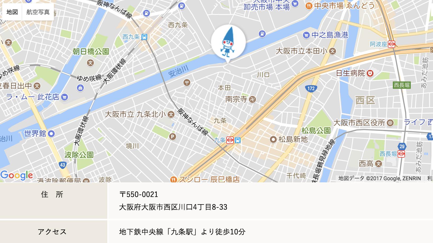 ほっぺるランド国津橋地図